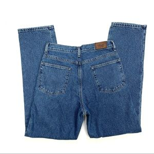 L.L.Bean Flannel Lined Straight Leg Jeans W30xL32